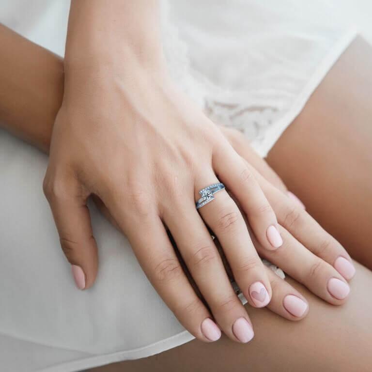 טבעת אירוסין יואנה