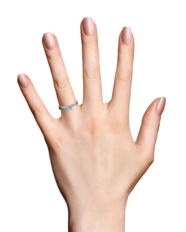טבעת אירוסין אדאס